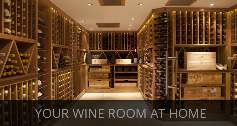 Custom made bespoke cellars and wine rooms
