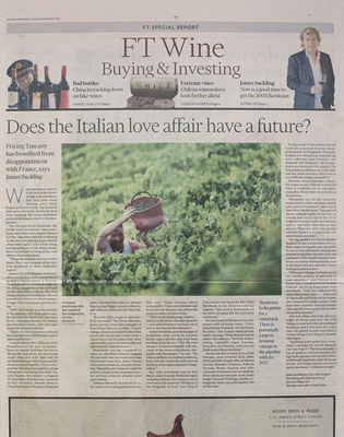 FT Weekend 21 November 2015